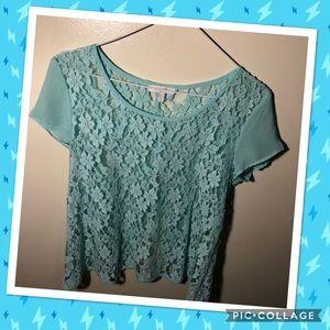 ❤️❤️ Delia's cute lace top
